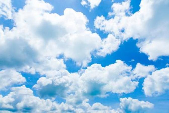 Chiều mây trắng bay