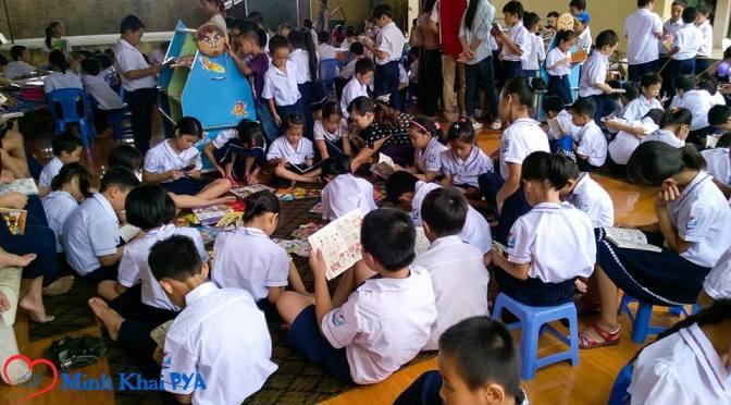 Ngày hội đọc sách Minh Khai 8/2015
