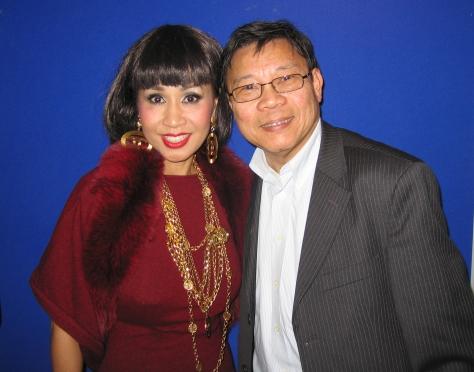 Ca sĩ Khánh Hà và NS Quách Vĩnh Thiện - Paris 2007.