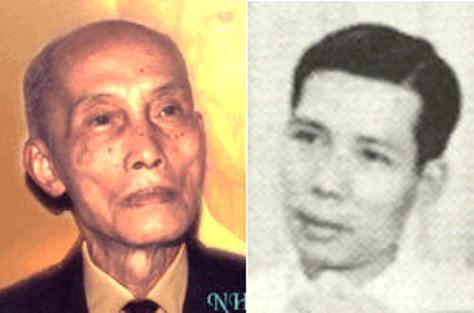 NS Nguyễn Văn Tuyên và nhà thơ Nguyễn Văn Cổn.