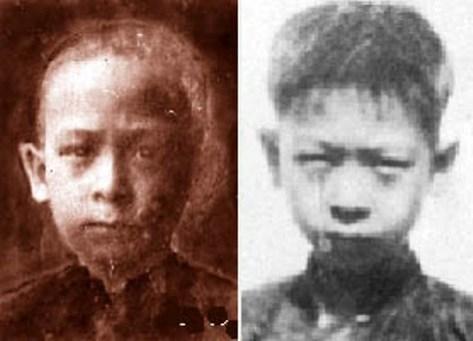 Phạm Duy Cẩn (NS Phạm Duy) lúc nhỏ.