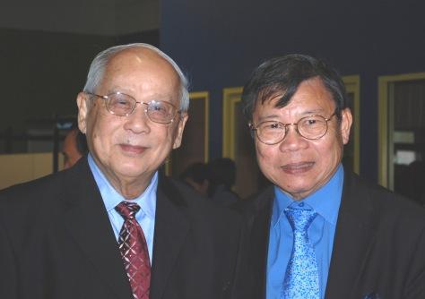 GS TS Nguyễn Thanh Liêm và NS Quách Vĩnh Thiện (2010)