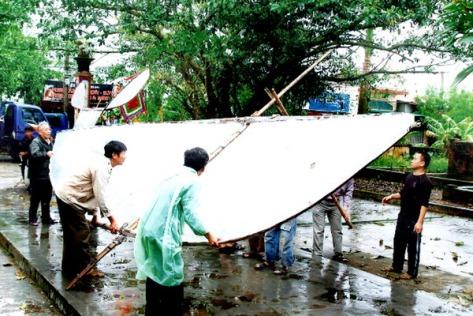 saodieu_Con diều có sải cánh dài 7,2m - cao 4,4m, chịu được sức gió cấp 5 - 6