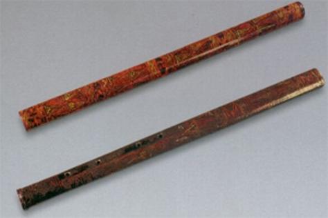 Sáo trúc – Chi (Di) và Hu.