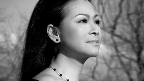 Ca sĩ Khánh Ly.