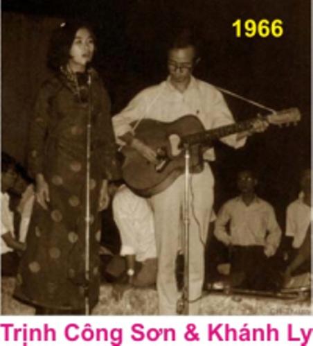 tcson_Trịnh Công Sơn & Khánh Ly 1966