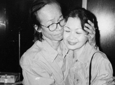 Trịnh Công Sơn và Khánh Ly.