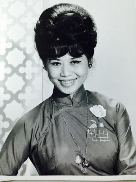 ncttqhbachyen_Bạch Yến, hình chụp năm 1960 ở Việt Nam