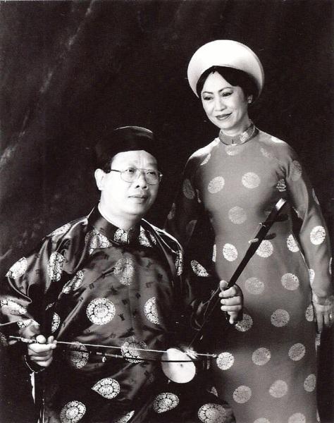 ncttqhbachyen_Bạch Yến và chồng - Giáo sư Tiến sĩ Trần Quang Hải