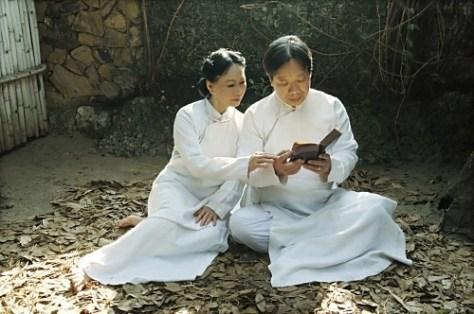 Đôi uyên ương nghệ sĩ Trần Quang Hải và Bạch Yến.