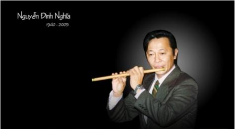 """""""Sáo Thần"""" Nguyễn Đình Nghĩa."""