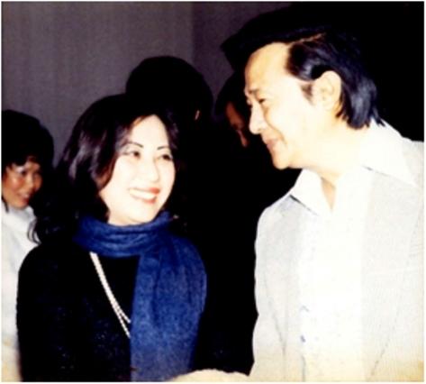 Sáo Thần Nguyễn Đình Nghĩa và hiền thê Trịnh Thị Diệu Tân.