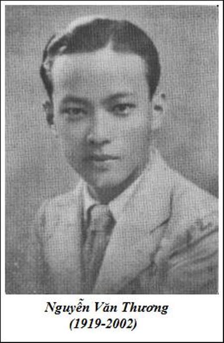 Nhạc sĩ Nguyễn Văn Thương thời trẻ.
