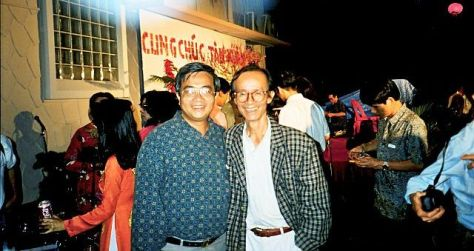 NS Võ Tá Hân và NS Trịnh Công Sơn (1998).