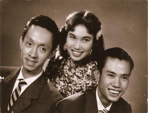 Hoài Trung, Thái Thanh, Phạm Đình Chương.