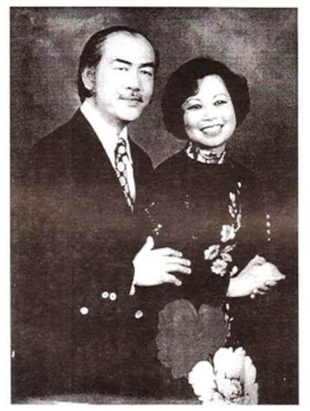Nhạc Sĩ Văn Phụng và Ca sĩ Châu Hà - 1959.