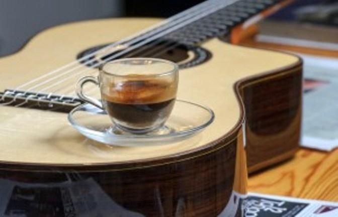 Lãng đãng với cà phê và nhạc