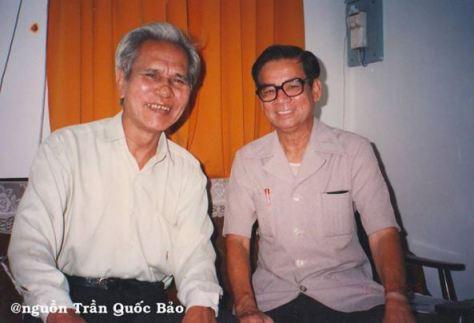 Nhạc sĩ Khánh Băng và Nhạc sĩ Phạm Mạnh Đạt.
