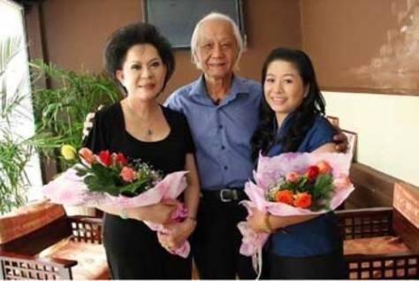NS Lâm Tuyền (giữa). (Hình yume.vn.com).