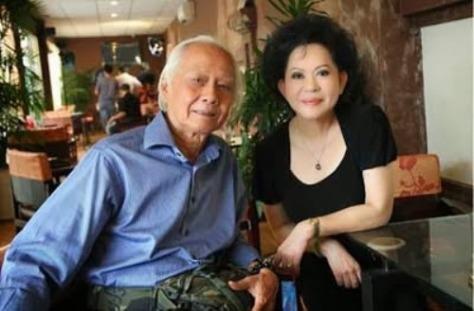 Nhạc sĩ Lâm Tuyền và ca sĩ Giao Linh.