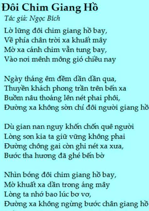 ngocbich_Đôi Chim Giang Hồ