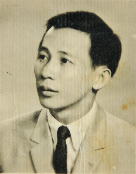 Nhạc sĩ Nguyễn Ánh 9 thời trẻ.