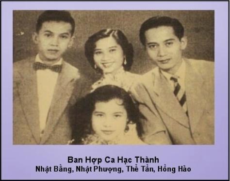 nhatbang_Ban Hợp Ca Hạc Thành với Nhật Bằng, Nhật Phượng, Thể Tần, Hồng Hảo