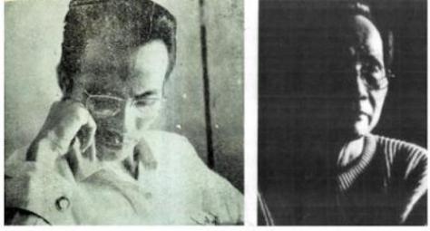 Nguyễn Đình Toàn trái, photo by Trần Cao Lĩnh; phải, photo by Nguyễn Ngọc Dung, con gái nhiếp ảnh gia Nguyễn Cao Đàm.