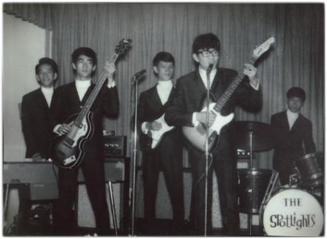 Ban nhạc The Sportlight 1963 - Tự Do club.