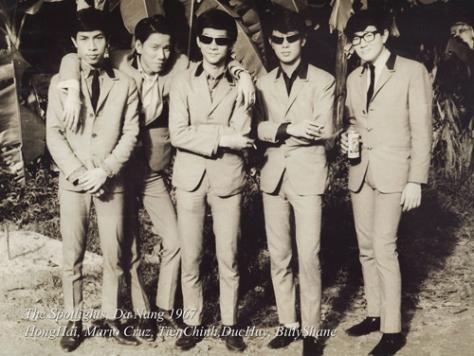 duchuy_Ban nhạc The Sportlight 1963
