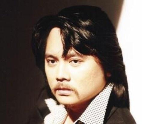Nhạc sĩ Hoàng Thanh Tâm thời trẻ.