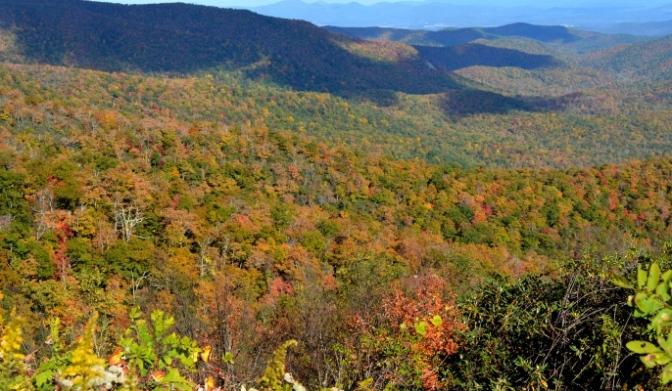 Sắc Thu trên dãy Appalachian 2015