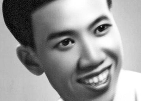Nhạc sĩ Thanh Sơn thời trẻ.