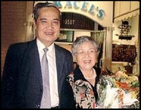 Vợ chồng nhạc sĩ Thanh Sơn 2006, Hoa Kỳ.