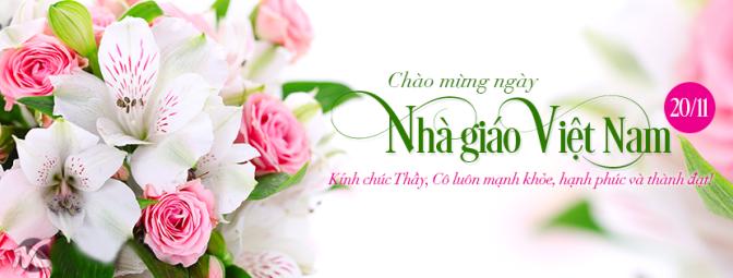 Chào mừng Ngày Nhà Giáo Việt Nam