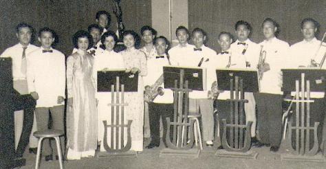 Ban nhạc Xuân Lôi, đài Saigon 1958.