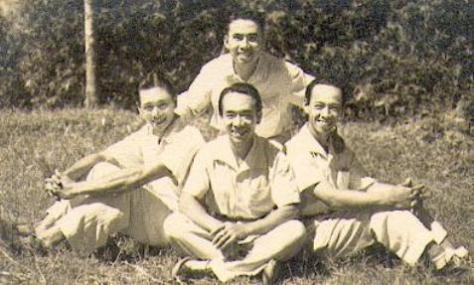Ðỗ Thế Phiệt, Xuân Khuê, Xuân Lôi, Xuân Tiên - Ðống Nam 1948.
