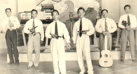 Dancing Văn Hoa 1952.