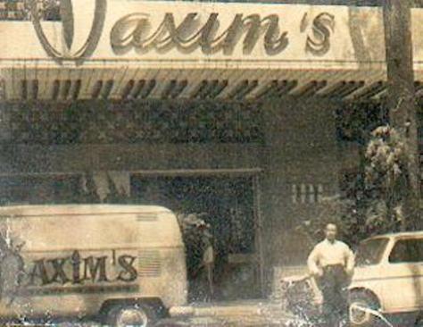Nhà hàng Maxim's 1967.