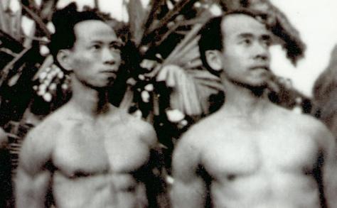 Xuân Tiên, Xuân Lôi khi tản cư ở Ðống Nam, 1948.