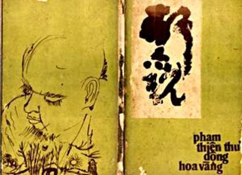 Bìa tập thơ Động Hoa Vàng.