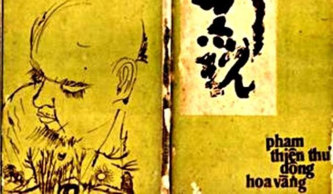 Kết quả hình ảnh cho hình bìa tập thơ động hoa vàng cả phạm thiên th7