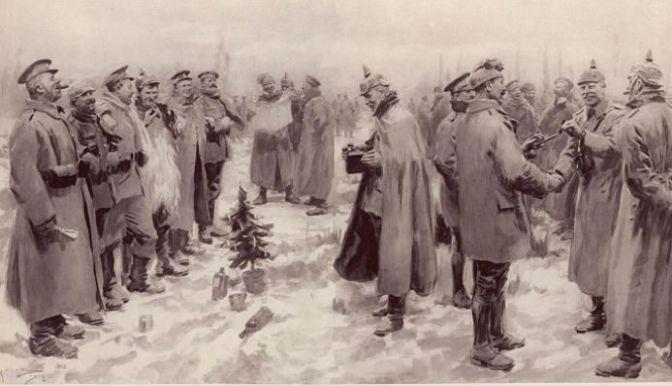 Phép Lạ Tại Chiến Trường – Hưu Chiến Giáng Sinh 1914