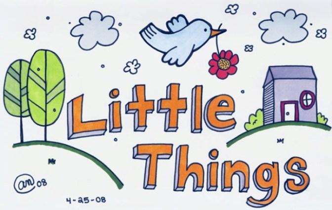 Little things – Những điều nhỏ nhoi