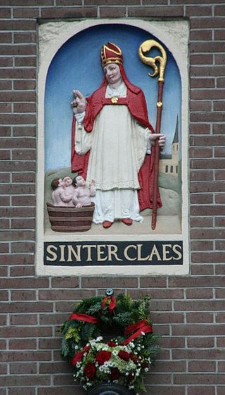 Sinter Claes in Amsterdam.