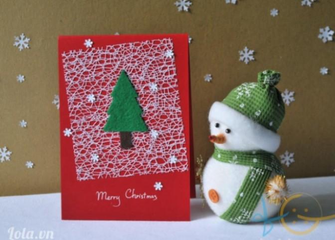 Thiệp Noel ngày đó