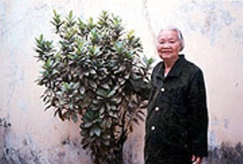Bà Mộng Cầm lúc sinh thời.