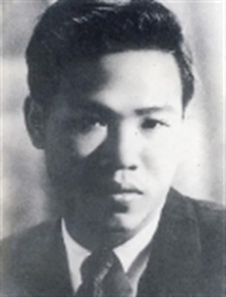 Thi sĩ Huy Cận thời trẻ.