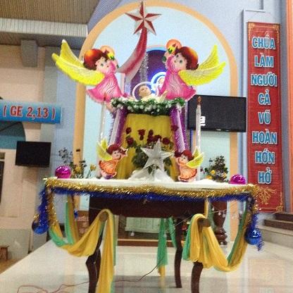 Kiệu Chúa Hài Đồng của giáo xứ Thuận Hiếu