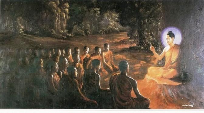 Phật không thuyết giảng